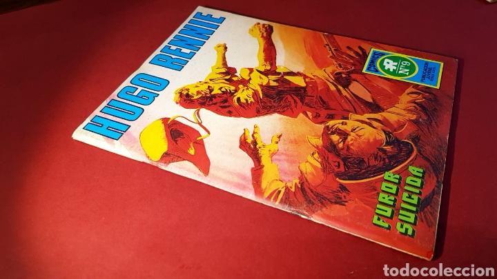 EXCELENTE ESTADO HUGO RENNIE 9 ROLLAN SERIE AZUL (Tebeos y Comics - Rollán - Series Rollán (Azul, Roja, etc))