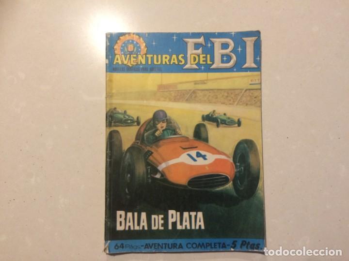 AVENTURAS DEL FBI - BALA DE PLATA - NUMERO 20 (Tebeos y Comics - Rollán - FBI)