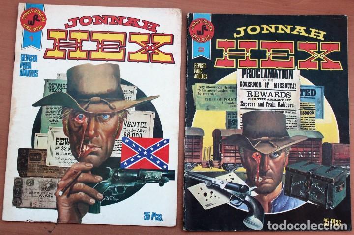 LOTE DE 2 COMIC JONNAH HEX (Tebeos y Comics - Rollán - Otros)