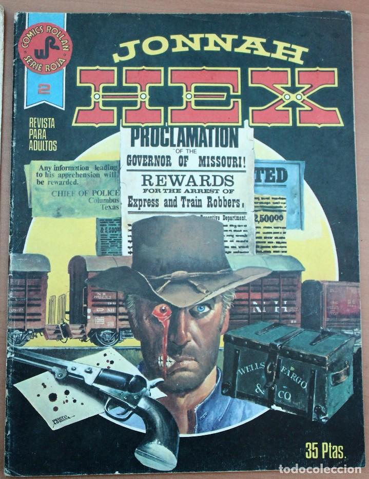 Tebeos: Lote de 2 comic Jonnah Hex - Foto 3 - 160952090