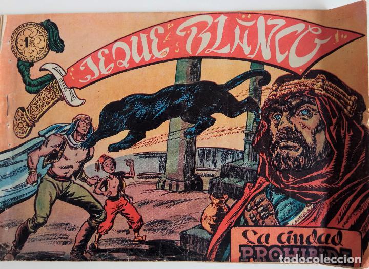 COLECCIÓN JEQUE BLANCO Nº 8 - LA CIUDAD PROHIBIDA (Tebeos y Comics - Rollán - Jeque Blanco)