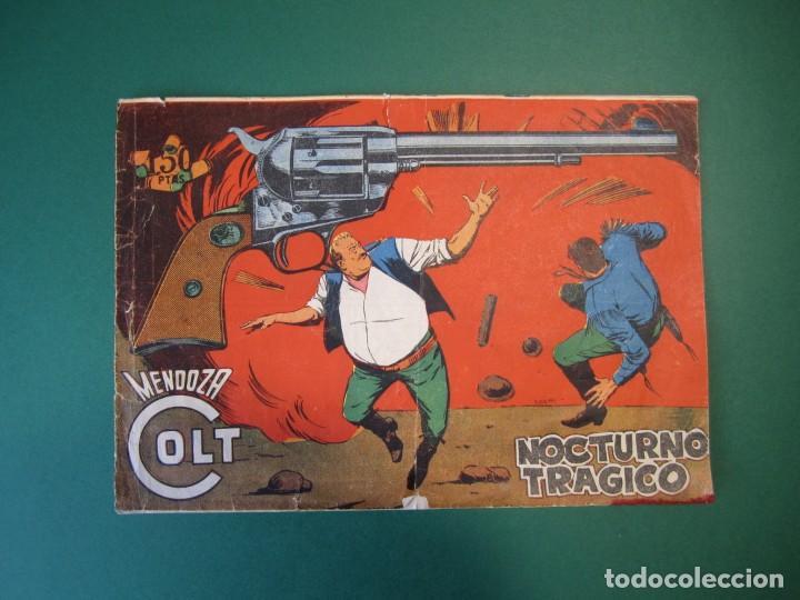 MENDOZA COLT (1956, ROLLAN) 108 · 29-IX-1960 · NOCTURNO TRAGICO (Tebeos y Comics - Rollán - Mendoza Colt)