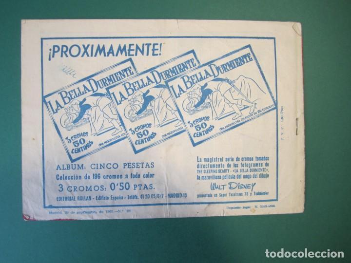 Tebeos: MENDOZA COLT (1956, ROLLAN) 108 · 29-IX-1960 · NOCTURNO TRAGICO - Foto 2 - 163588810
