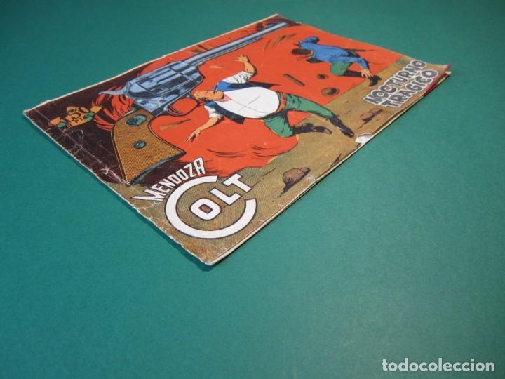 Tebeos: MENDOZA COLT (1956, ROLLAN) 108 · 29-IX-1960 · NOCTURNO TRAGICO - Foto 3 - 163588810