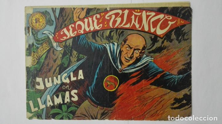 JEQUE BLANCO, Nº 113, EDITORIAL ROLLAN (Tebeos y Comics - Rollán - Jeque Blanco)