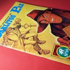 Tebeos: EXCELENTE ESTADO LAS AVENTURAS DE CARLITOS PAZ 8 COMICS SERIE ROJA 19 EDITORIAL ROLLAN. Lote 163717582