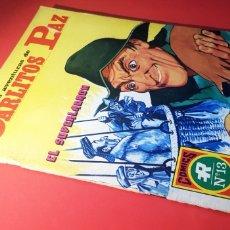 Tebeos: EXCELENTE ESTADO LAS AVENTURAS DE CARLITOS PAZ 2 COMICS SERIE ROJA 13 EDITORIAL ROLLAN. Lote 163718221
