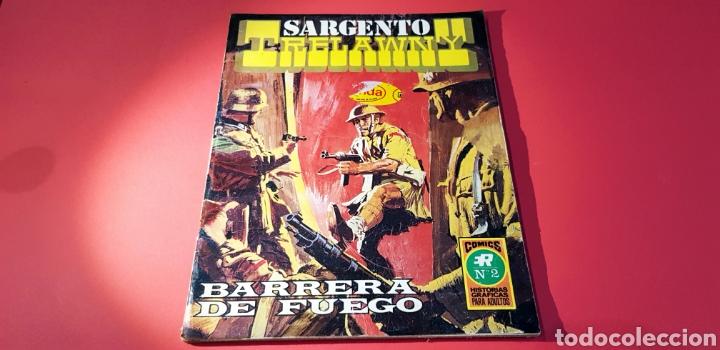 MUY BUEN ESTADO SARGENTO TRELAWNY 2 SERIE ROJA 15 ROLLAN (Tebeos y Comics - Rollán - Series Rollán (Azul, Roja, etc))