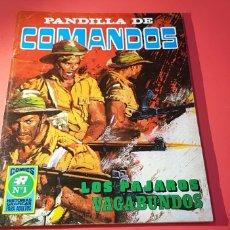 Tebeos: EXCELENTE ESTADO PANDILLA DE COMANDOS 1 SERIE B LOS PAJAROS VEGABUNDO. Lote 164681796