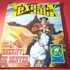 Tebeos: MUY BUEN ESTADO TEXAS JACK 4 SERIE AZUL 14 ROLLAN. Lote 164683021
