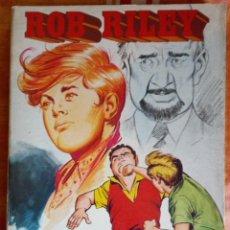 Tebeos: ROB RILEY - RETAPADOS ROLLAN Nº 15 - 5 NÚMEROS COMPLETA.. Lote 165229514