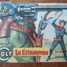 Tebeos: MENDOZA COLT, LA ESTAMPIDA Nº 61 - ROLLAN ORIGINAL. Lote 165349658