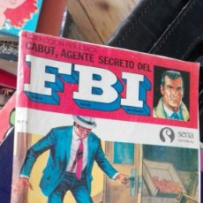 Tebeos: CABOT, AGENTE SECRETO DEL FBI Nº 3: ASESINATO EN LA CALLE BOWERY.EDITORIAL SENA. Lote 166999004
