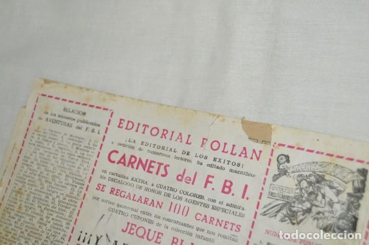 Tebeos: Original - Aventuras del FBI - EDITORIAL ROLLAN - 52 Números / EJEMPLARES - Años 50 ¡Mira! - Foto 37 - 167796432