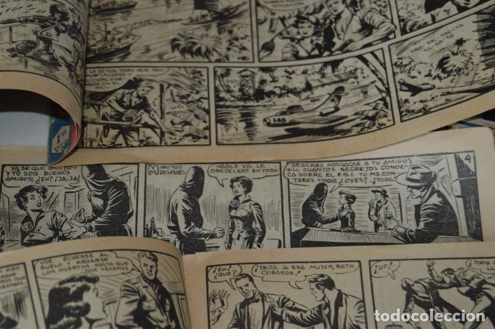 Tebeos: Original - Aventuras del FBI - EDITORIAL ROLLAN - 52 Números / EJEMPLARES - Años 50 ¡Mira! - Foto 40 - 167796432