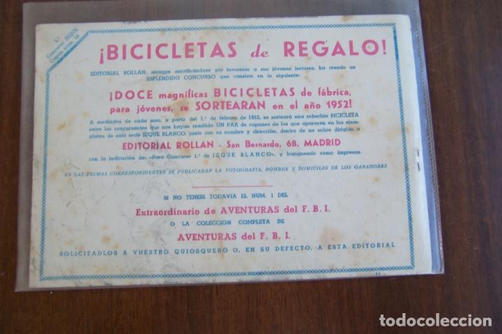 Tebeos: rollan,- jeque blanco nº 10 - Foto 2 - 169213820
