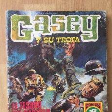 Livros de Banda Desenhada: CASEY Y SU TROPA Nº 1 - EL TESORO DEL CASTILLO IGNORADO - ED. ROLLAN - AÑO 1972 - GCH. Lote 197980123