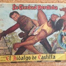 Tebeos: EL HIDALGO DE CASTILLA Nº 4 - LA CIUDAD PERDIDA - ROLLAN, ORIGINAL - GCH. Lote 172285545