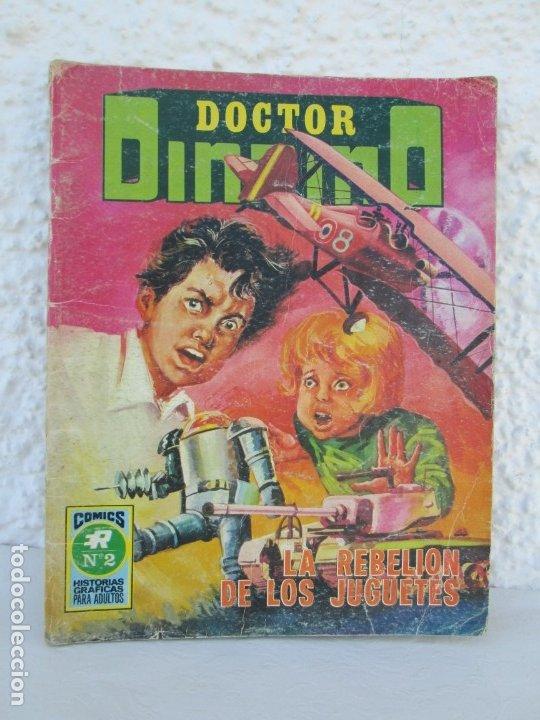 DOCTOR DINAMO. LA REBELION DE LOS JUGUETES. Nº 2. COMICS ROLLAN 1973. VER FOTOGRAFIAS ADJUNTAS (Tebeos y Comics - Rollán - Otros)