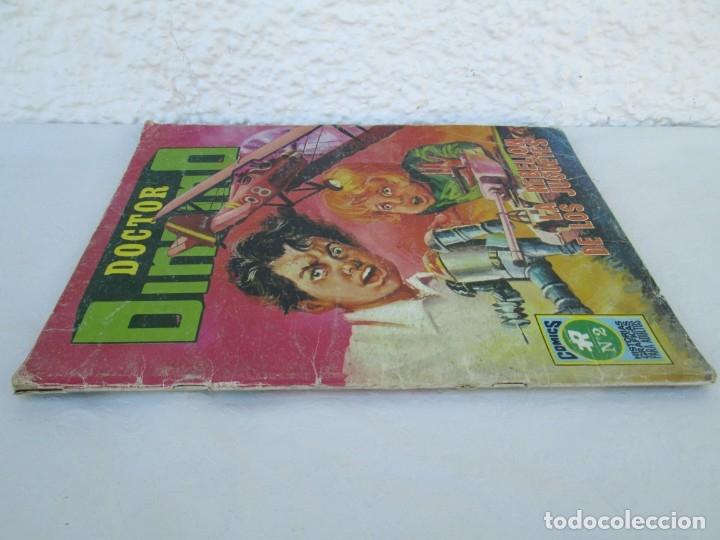 Tebeos: DOCTOR DINAMO. LA REBELION DE LOS JUGUETES. Nº 2. COMICS ROLLAN 1973. VER FOTOGRAFIAS ADJUNTAS - Foto 2 - 173359368