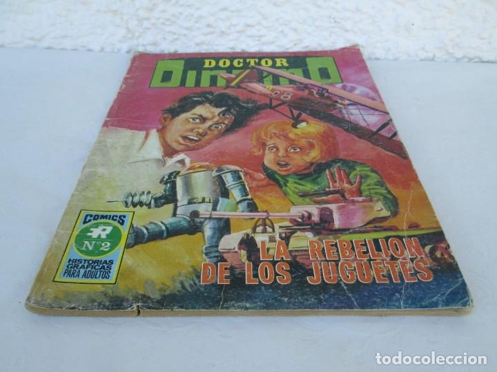 Tebeos: DOCTOR DINAMO. LA REBELION DE LOS JUGUETES. Nº 2. COMICS ROLLAN 1973. VER FOTOGRAFIAS ADJUNTAS - Foto 3 - 173359368