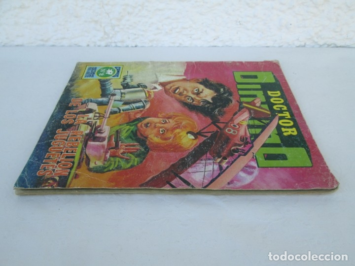 Tebeos: DOCTOR DINAMO. LA REBELION DE LOS JUGUETES. Nº 2. COMICS ROLLAN 1973. VER FOTOGRAFIAS ADJUNTAS - Foto 4 - 173359368