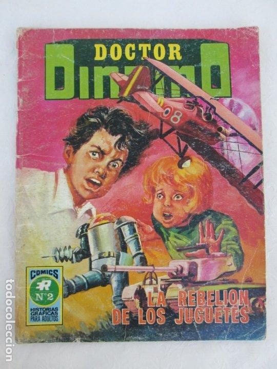 Tebeos: DOCTOR DINAMO. LA REBELION DE LOS JUGUETES. Nº 2. COMICS ROLLAN 1973. VER FOTOGRAFIAS ADJUNTAS - Foto 5 - 173359368
