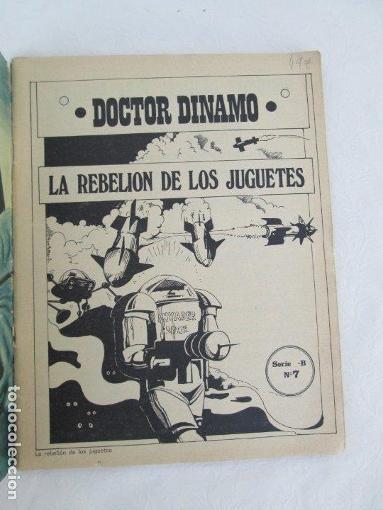 Tebeos: DOCTOR DINAMO. LA REBELION DE LOS JUGUETES. Nº 2. COMICS ROLLAN 1973. VER FOTOGRAFIAS ADJUNTAS - Foto 6 - 173359368