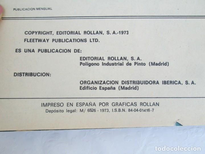 Tebeos: DOCTOR DINAMO. LA REBELION DE LOS JUGUETES. Nº 2. COMICS ROLLAN 1973. VER FOTOGRAFIAS ADJUNTAS - Foto 7 - 173359368