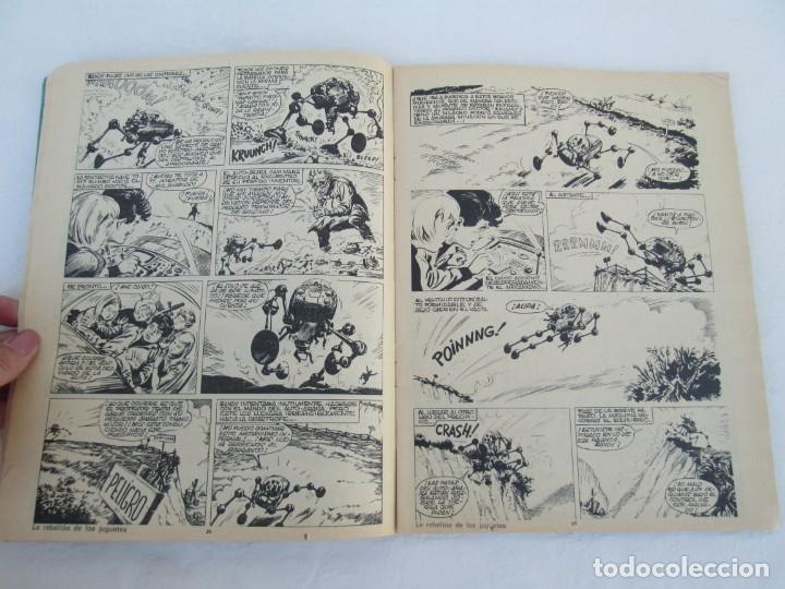 Tebeos: DOCTOR DINAMO. LA REBELION DE LOS JUGUETES. Nº 2. COMICS ROLLAN 1973. VER FOTOGRAFIAS ADJUNTAS - Foto 9 - 173359368