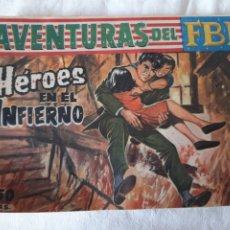 Tebeos: AVENTURAS DEL FBI N°235 ROLLAN EN BUEN ESTADO. Lote 173500039