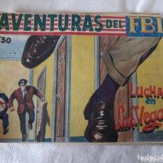 Tebeos: AVENTURAS DEL FBI N° 237 ROLLAN EN BUEN ESTADO. Lote 173500999