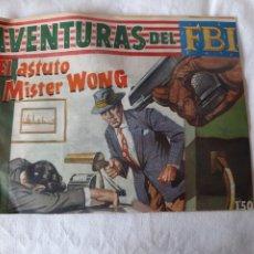 Tebeos: AVENTURAS DEL FBI N°238 ROLLAN AÑO 1960 EN BUEN ESTADO. Lote 173501330