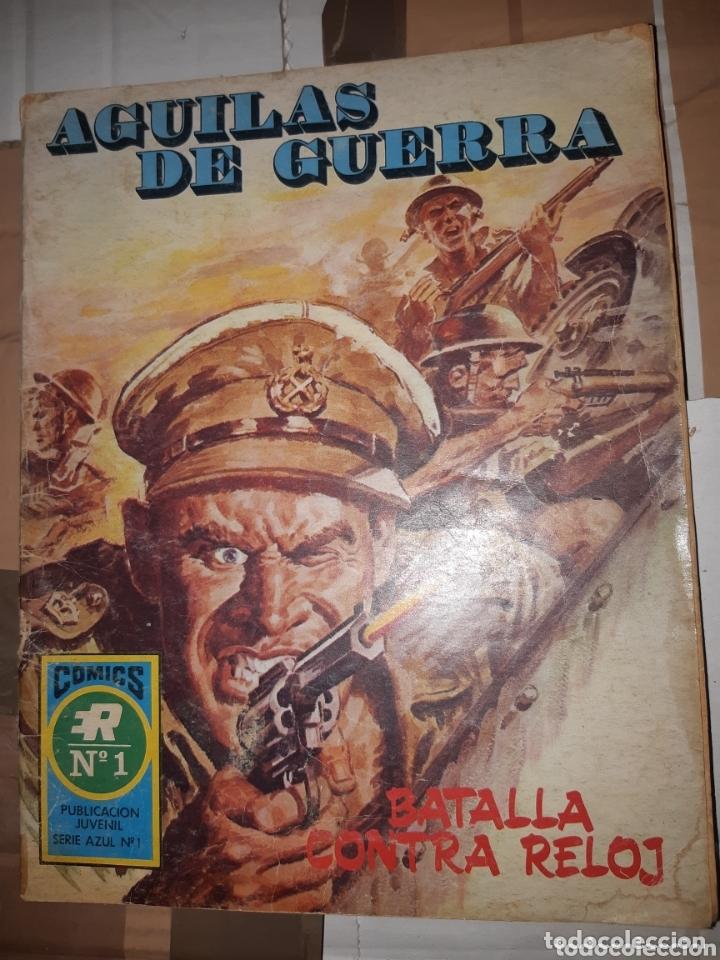 TEBEOS-CÓMICS CANDY - ÁGUILAS DE GUERRA - 1 - ROLLAN - *AA99 (Tebeos y Comics - Rollán - Series Rollán (Azul, Roja, etc))