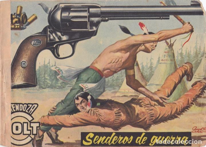 MENDOZA COLT Nº 36 SENDEROS DE GUERRA EL DE LA FOTO VER FOTO ADICIONAL CONTRAPORTADA (Tebeos y Comics - Rollán - Mendoza Colt)