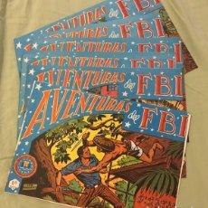 Livros de Banda Desenhada: LOTE DE AVENTURAS DEL FBI. Lote 174470192