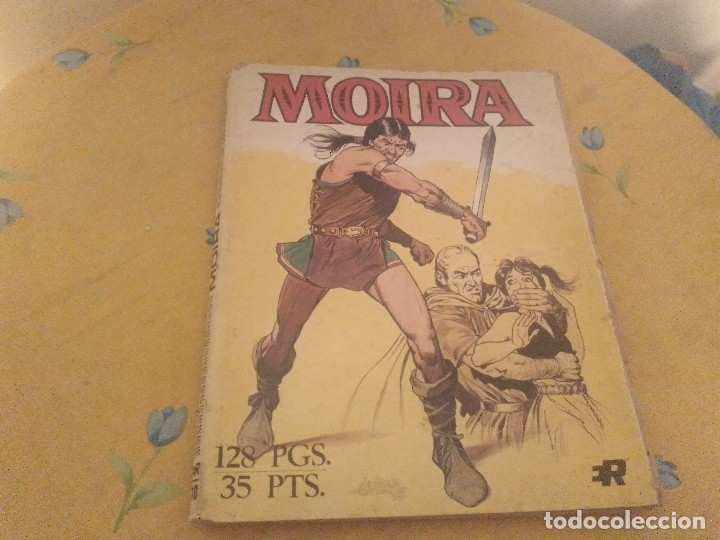 MOIRA 2 TITULOS SERIE B Nº2 ESCLAVOS DE ROMA Y SERIE B Nº 6 LA FURIA DE THORKIL (Tebeos y Comics - Rollán - Series Rollán (Azul, Roja, etc))