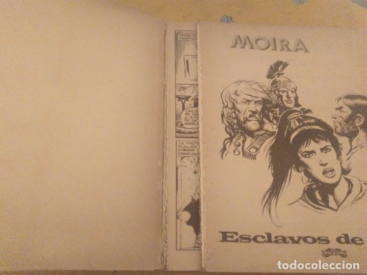 Tebeos: MOIRA 2 TITULOS SERIE B Nº2 ESCLAVOS DE ROMA Y SERIE B Nº 6 LA FURIA DE THORKIL - Foto 3 - 174501039
