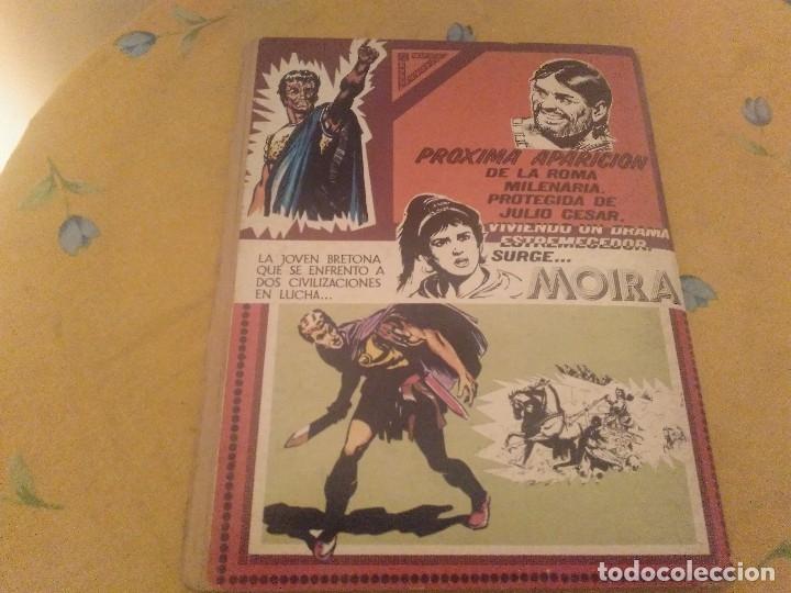 Tebeos: MOIRA 2 TITULOS SERIE B Nº2 ESCLAVOS DE ROMA Y SERIE B Nº 6 LA FURIA DE THORKIL - Foto 6 - 174501039