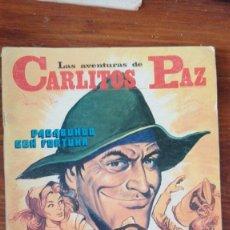Tebeos: LAS AVENTURAS DE CARLITOS PAZ. Nº 1 - ROLLAN Nº 12 , VAGABUNDO CON FORTUNA. Lote 175504555