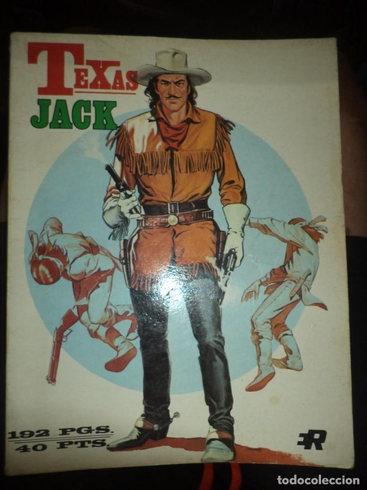 RETAPADOS ROLLÁN Nº8 .TEXAS JACK.1974,SERIE AZUL CON LOS Nº17,18 Y 19. (Tebeos y Comics - Rollán - Series Rollán (Azul, Roja, etc))