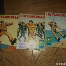 Tebeos: LOTE DE 3 COMICS LOS INVENCIBLES,ROLLÁN 1973.SERIE AZUL Nº 3,4 Y 7.. Lote 175541797
