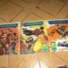 Tebeos: LOTE DE 3 COMICS THUNDERBOLT.Nº14,15 Y 16.ROLLÁN 1973,SERIE AZUL.. Lote 175544575