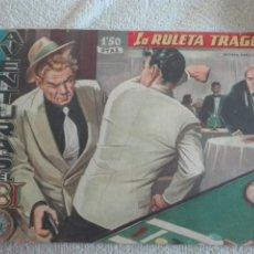 Tebeos: AVENTURAS DEL FBI LA RULETA TRAGICA 1958. Lote 175618147