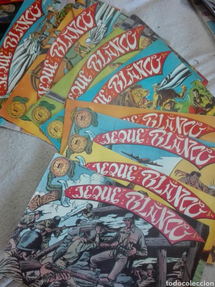 JEQUE BLANCO 1 2 3 4 8 26 27 Y 31 ORIGINAL (Tebeos y Comics - Rollán - Jeque Blanco)