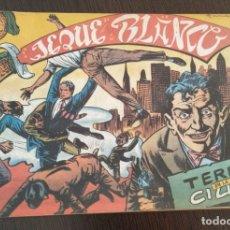 Tebeos: JEQUE BLANCO TERROR EN LA CIUDAD. NUMERO 22. Lote 176754658