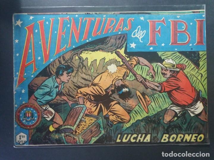 AVENTURAS DEL F B I Nº 16 (Tebeos y Comics - Rollán - FBI)