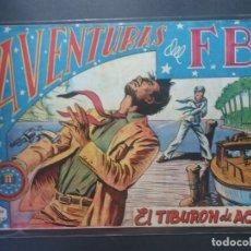 Tebeos: AVENTURAS DEL F B I Nº 37. Lote 176963513