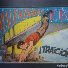 Tebeos: AVENTURAS DEL F B I Nº 125. Lote 176963813