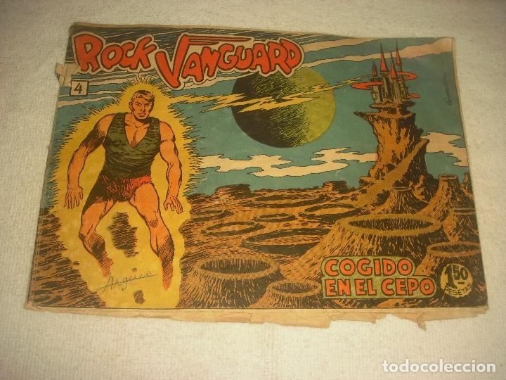 ROCK VANGUARD N. 4 . COGIDO EN EL CEPO. (Tebeos y Comics - Rollán - Rock Vanguard)